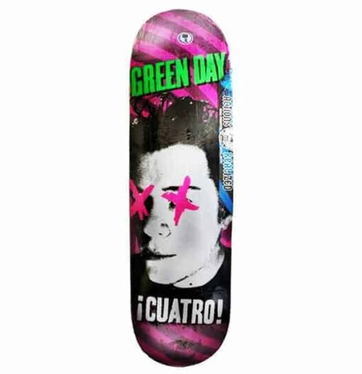 Shape Real Skateboards Green Day Maple 8.38